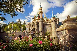 Sleeping Beauty's Castle at Disneyland California