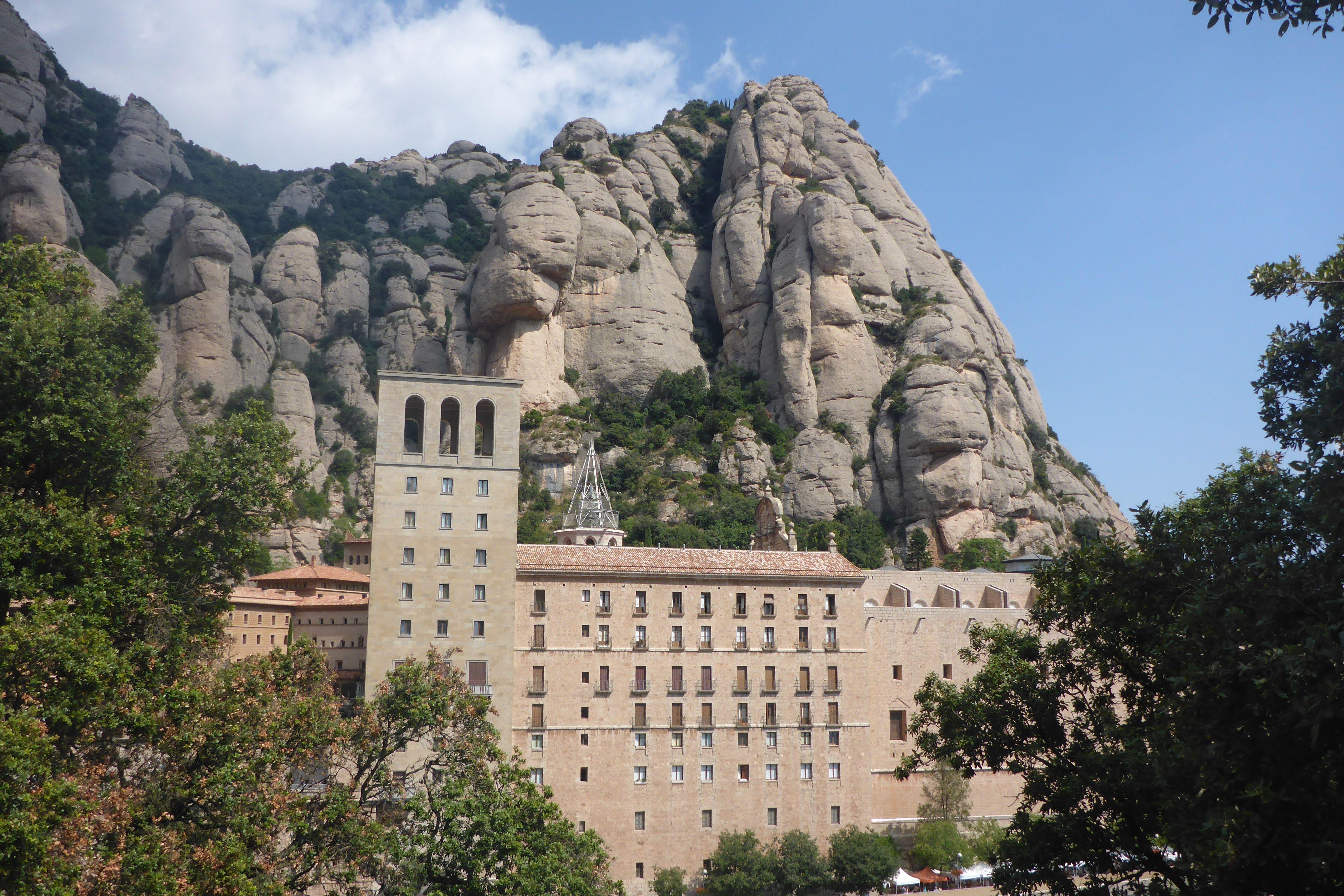 Monastery at Montserrat near Barcelona