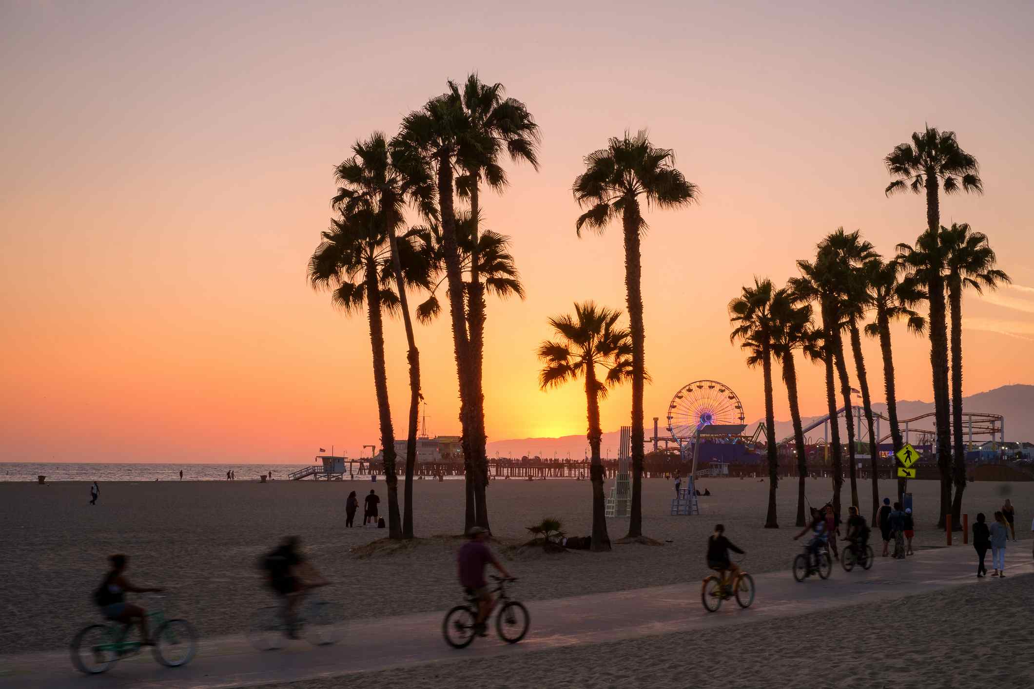Santa Monica bike tour