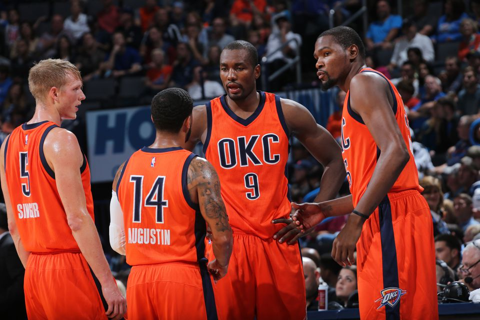Oklahoma City Thunder Sunset Alternate Uniform ea1e962ef