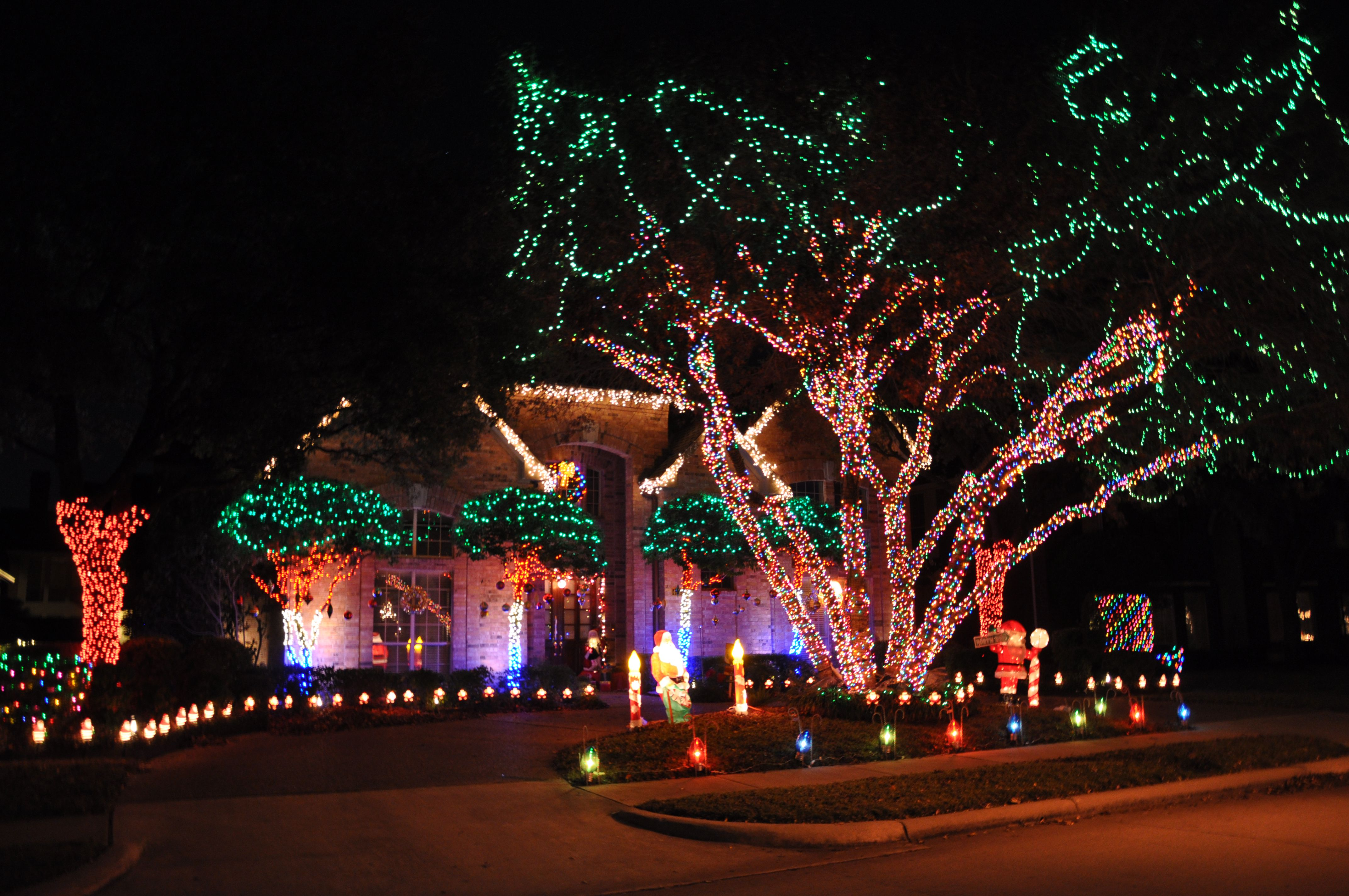 10 best holiday light displays in dallas fort worth
