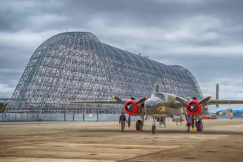 Hangar One at Moffett Field
