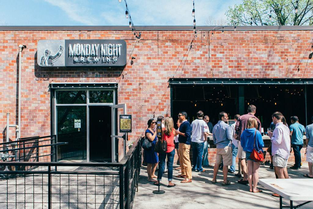 One of many breweries to visit in Atlanta
