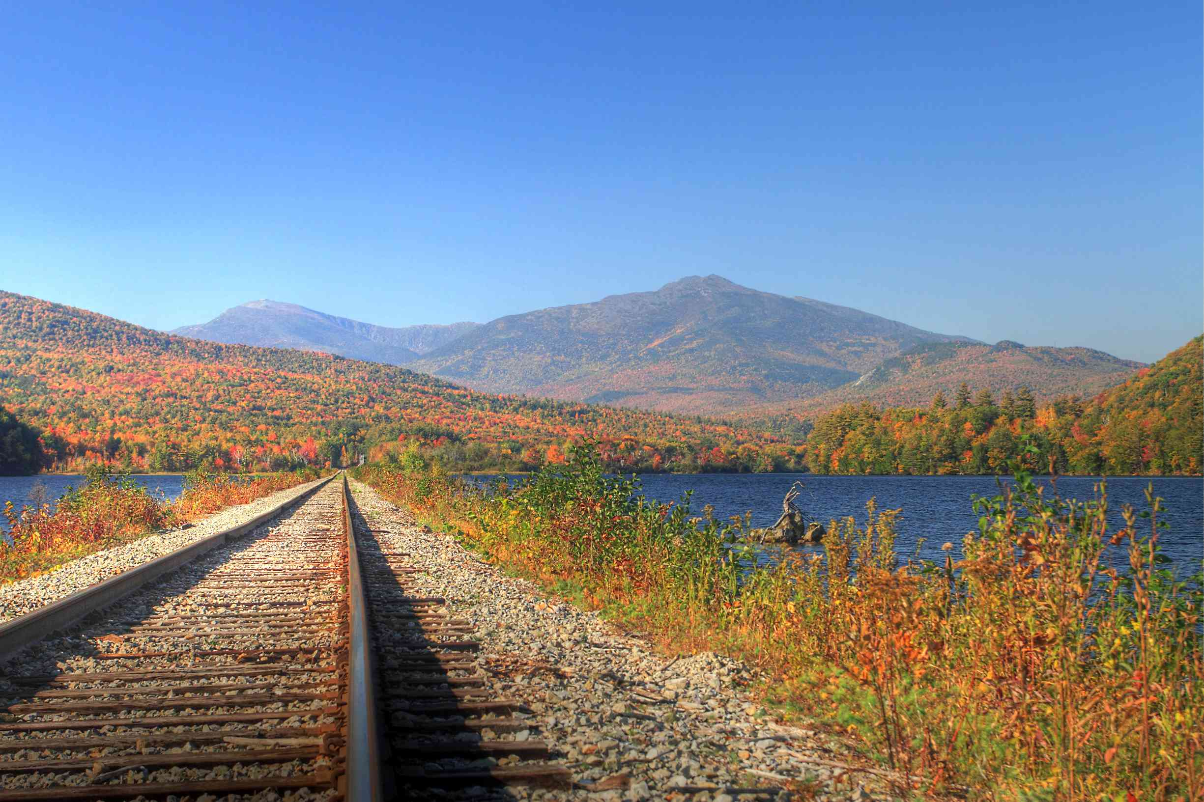New Hampshire railway in the White Mountains
