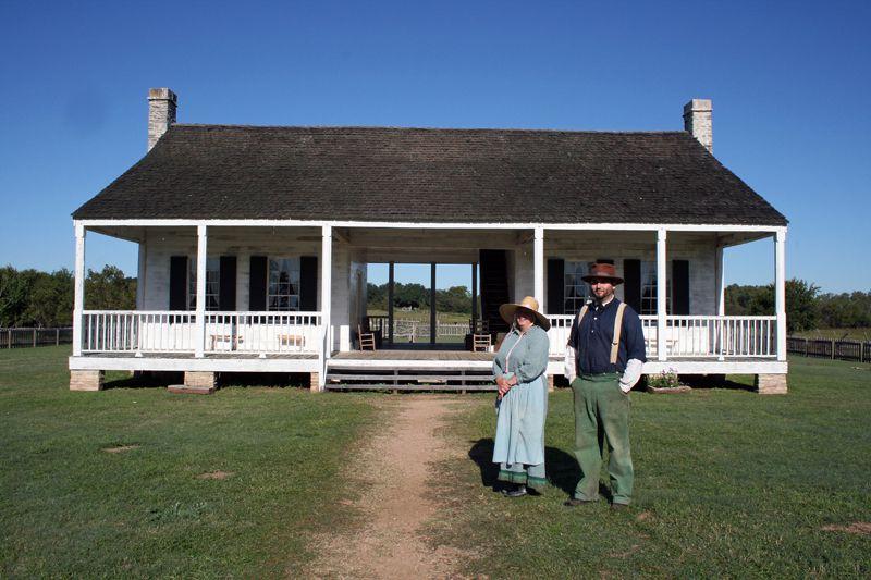 El lugar de nacimiento de Texas: recorra una granja de historia viva