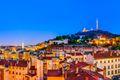Panorama city of Lyon