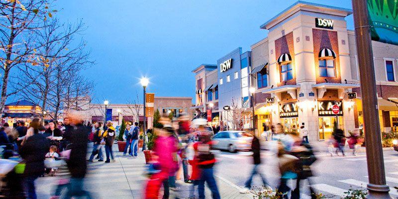 Zona Rosa is one of many shopping centers in Kansas City
