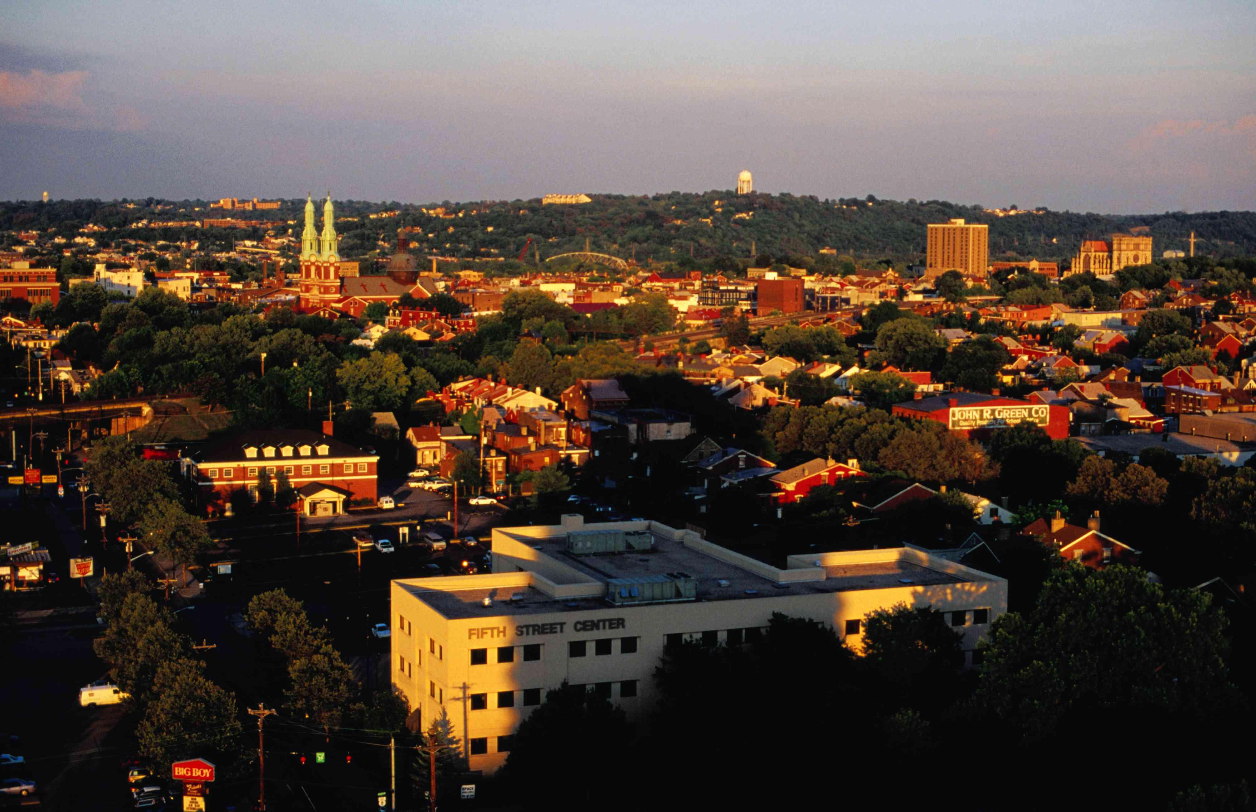 Suburbs of Covington.