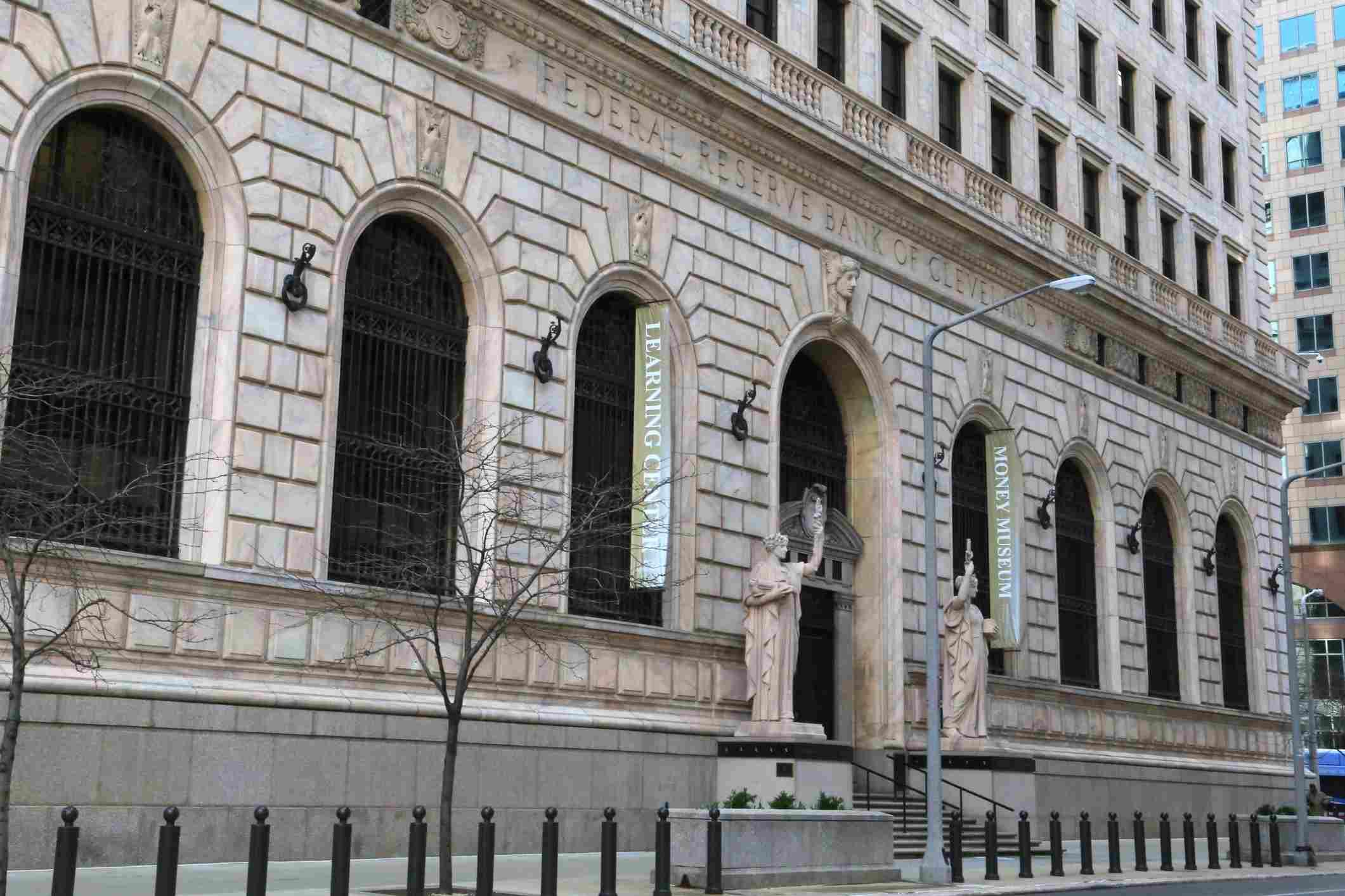 USA, Ohio, Cleveland, US Federal Reserve Bank