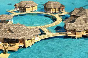 Overwater Villas, Sandals Royal Caribbean Spa Resort & Offshore Island