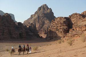 Camel Trekking in Jordan
