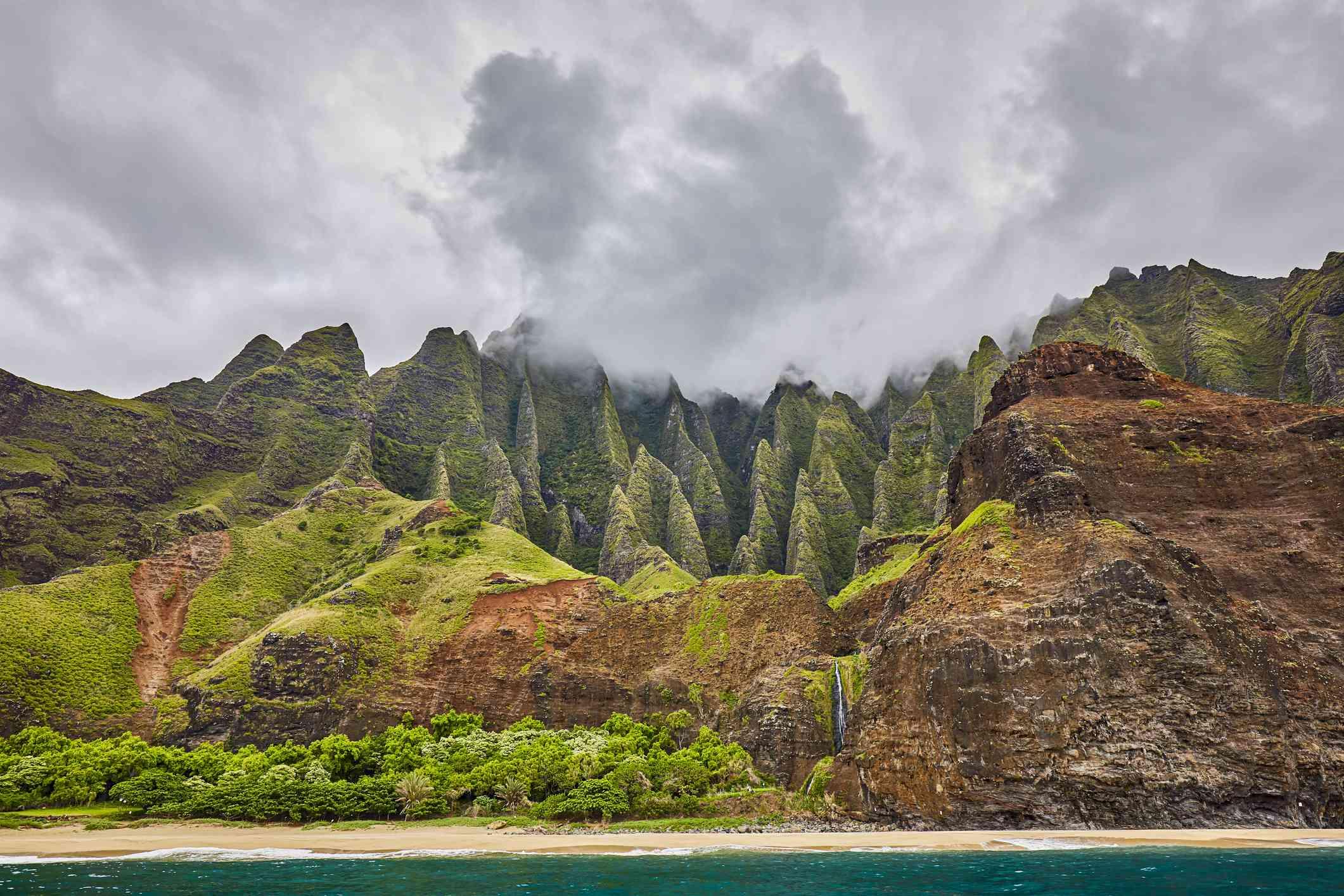 NaPali Coast State Wilderness Park,Kauai,Hawaii,USA