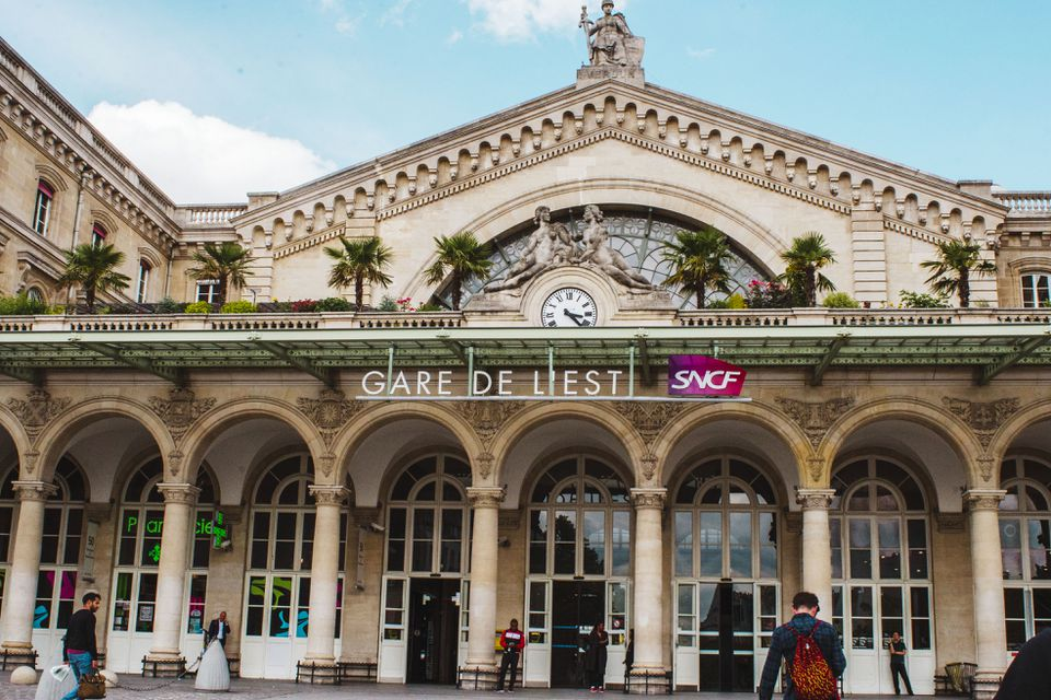 Entrance to Gare De L'est