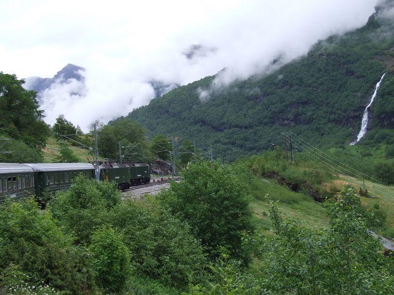 Flam Railway near Flam, Norway