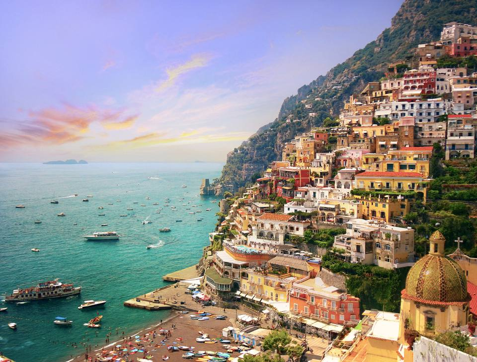 Costa italiana de Amalfi