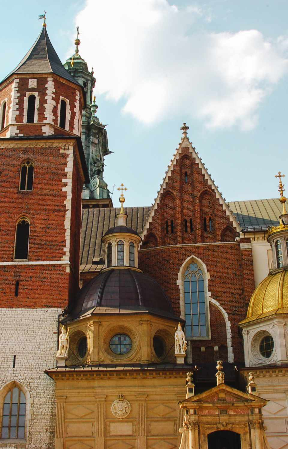 ancient architecture in Krakow