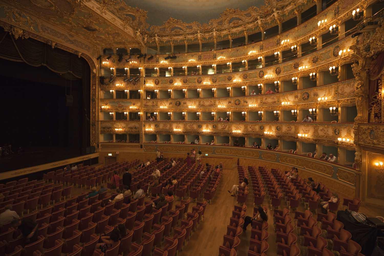The Teatro la Fenice of Venice