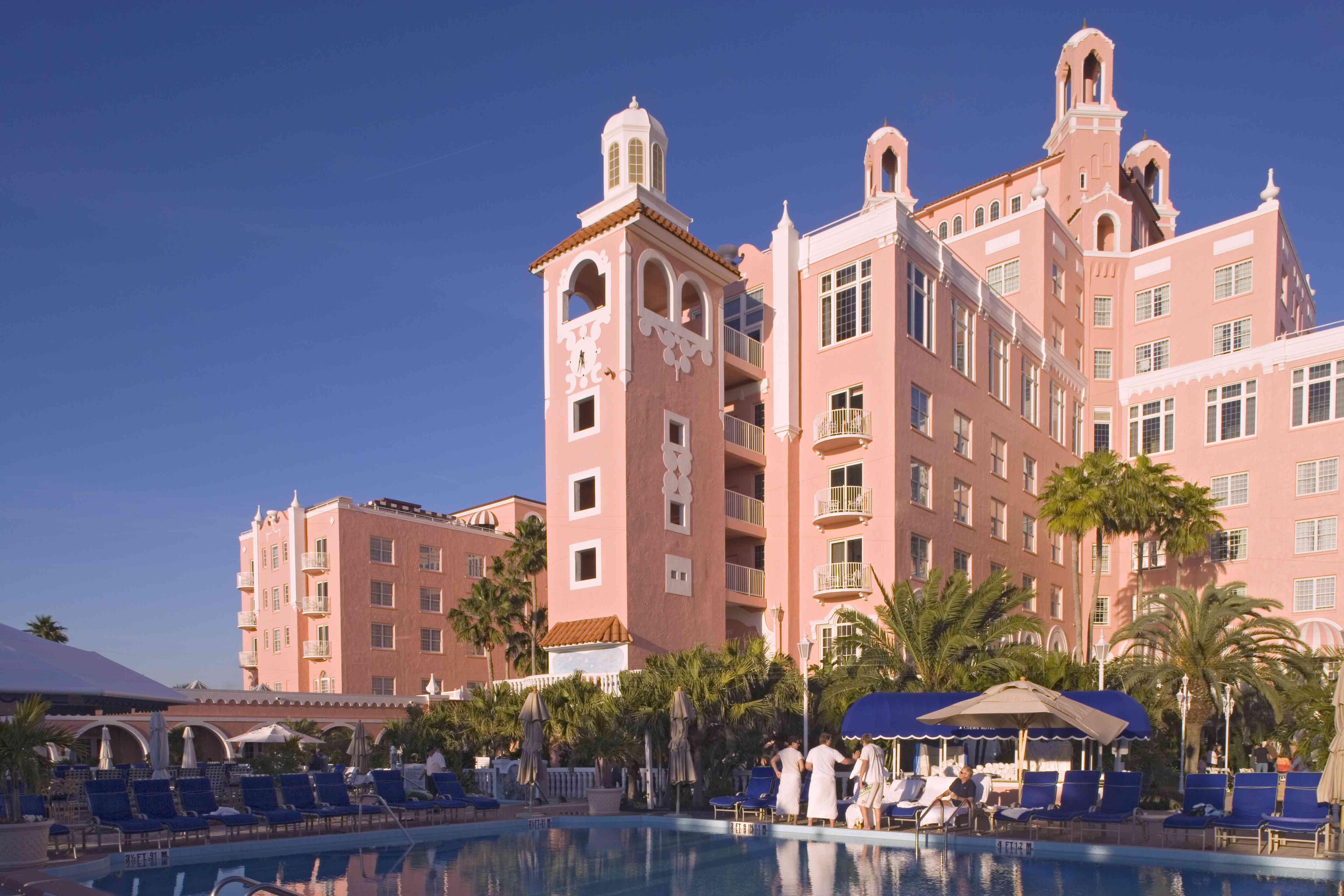 Don Cesar Hotel.