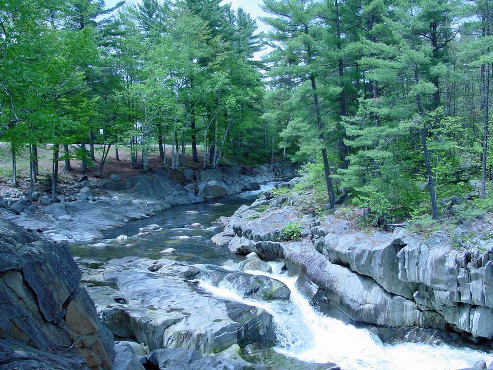 Coos Canyon on the Swift River in Maine