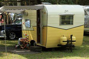 Camper at Koreshan