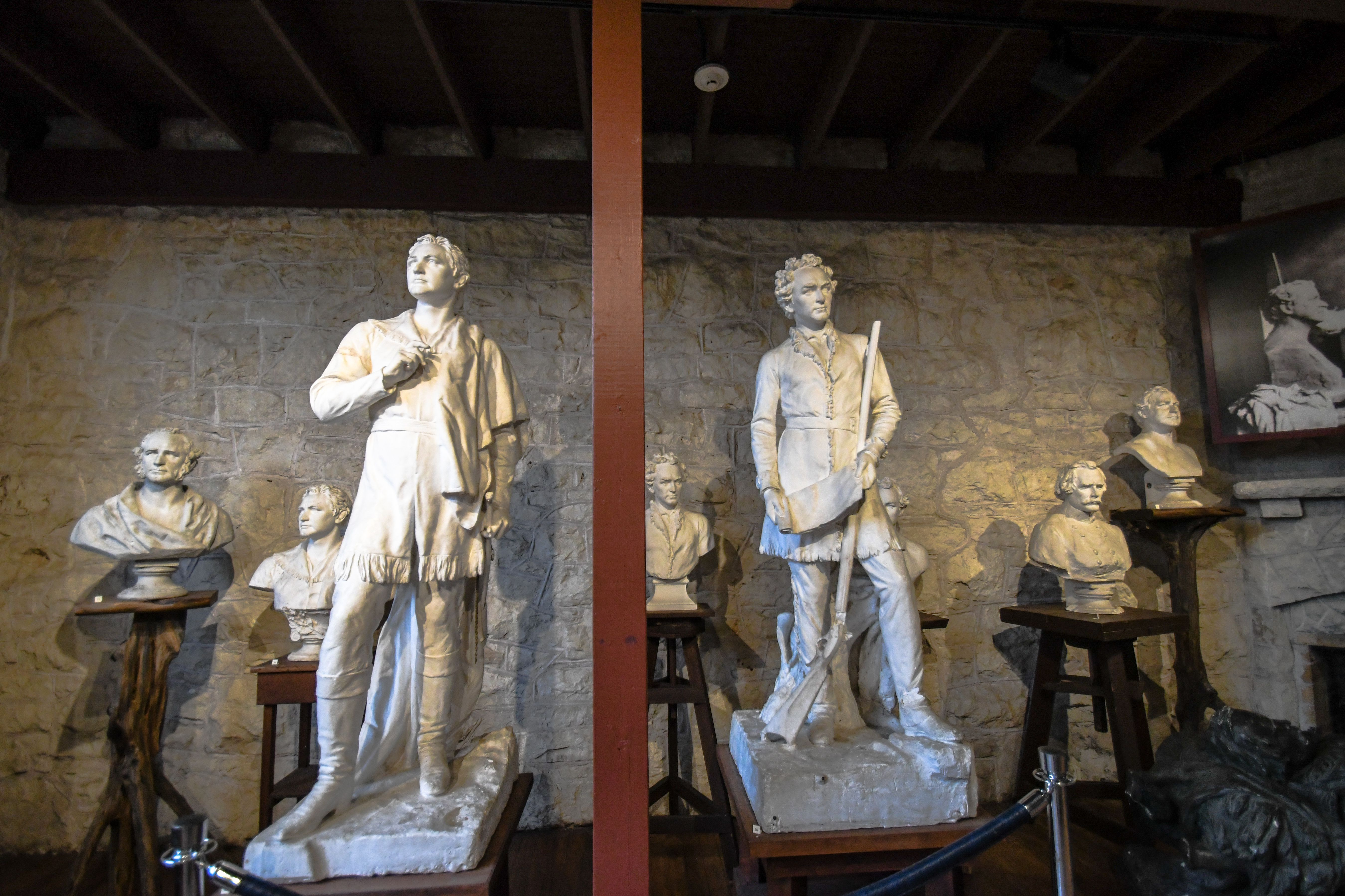 Statues in the Elisabet Ney Museum