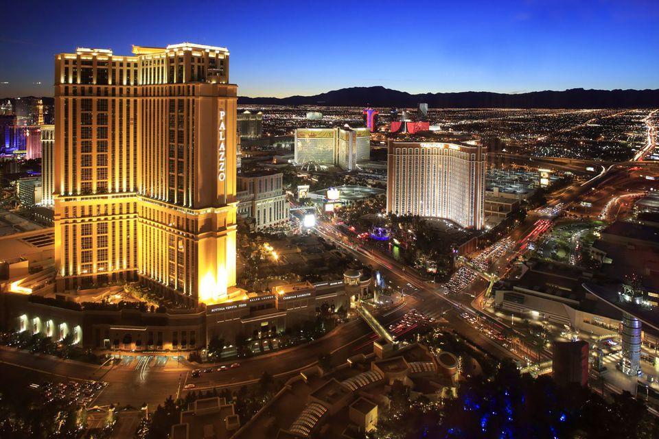 La franja de Las Vegas