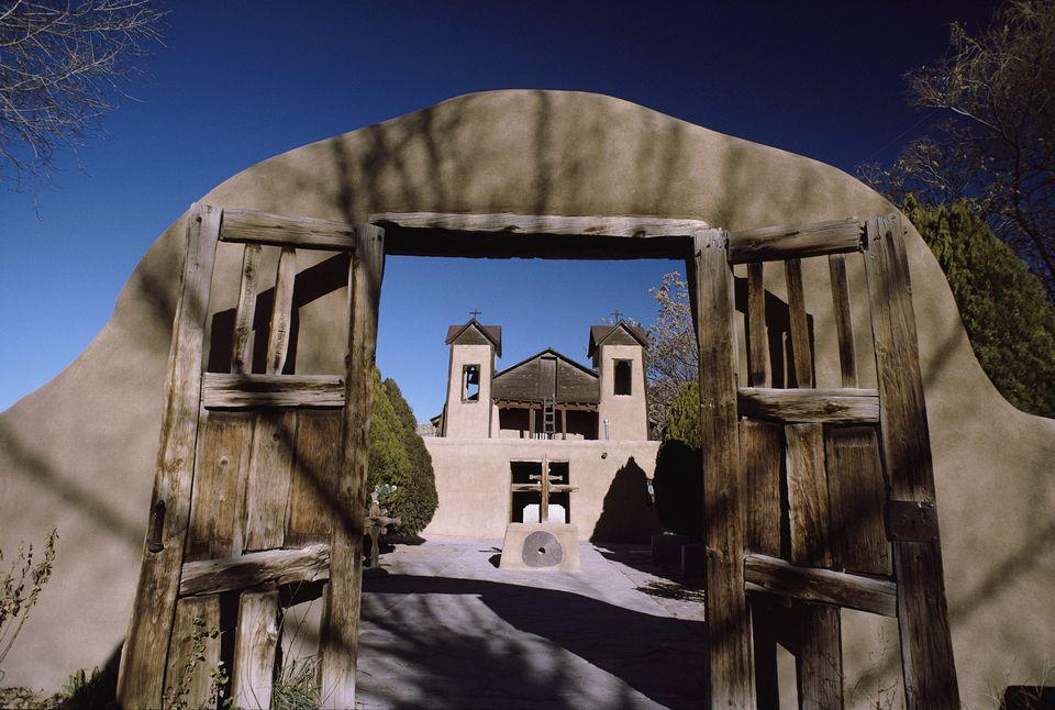 Entrance Gate to Santuario de Chimayo