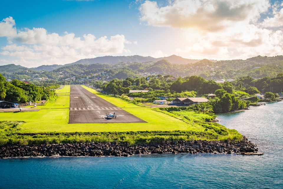 St. Lucia airport