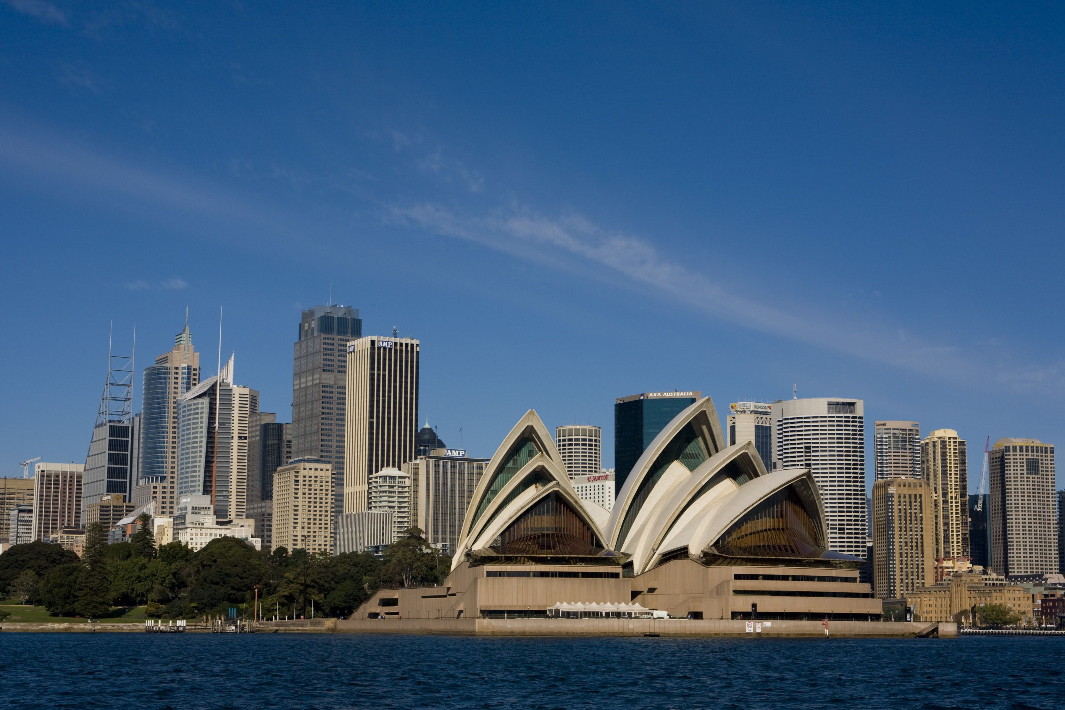 The Location of the Sydney Opera House