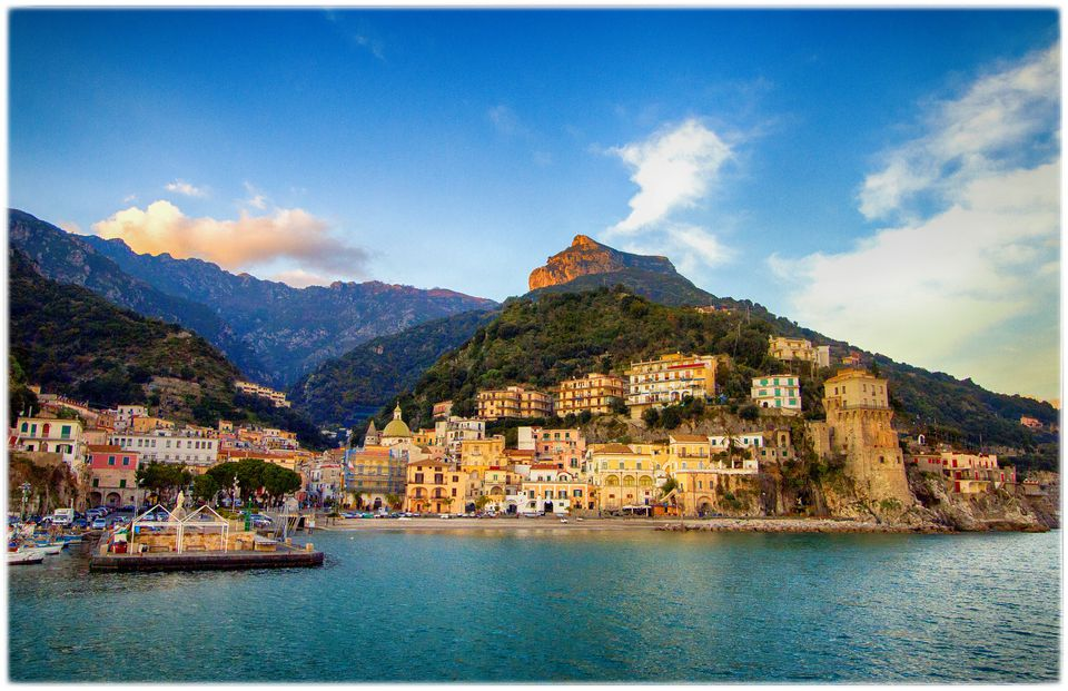 Traveling From Rome To The Amalfi Coast