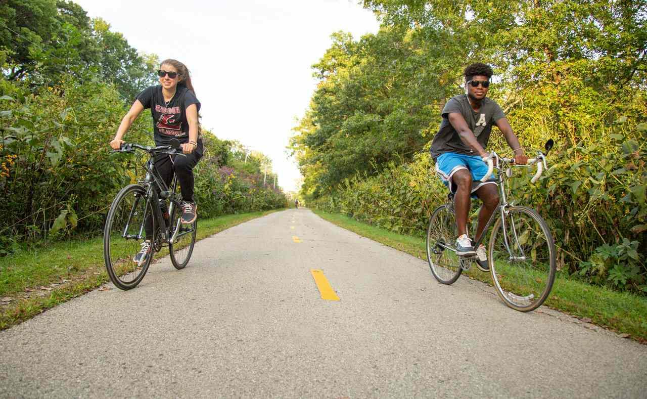 Biking in Madison Wisconsin