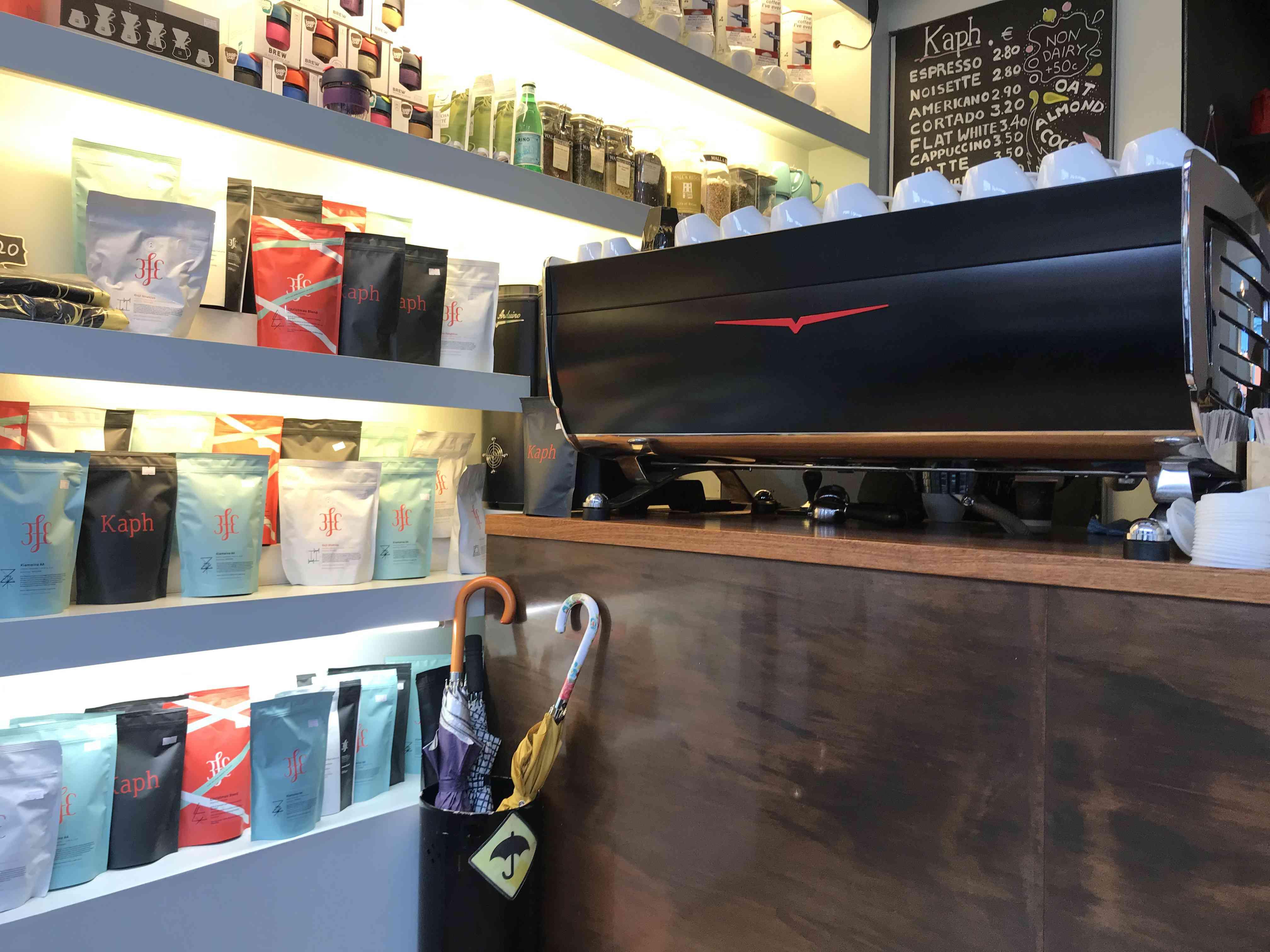 interior coffee shop