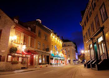 Quebec City evening