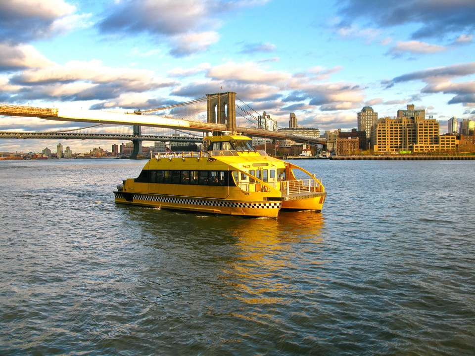 Manhattan water taxi