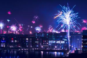 Fireworks in Copenhagen