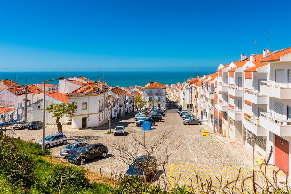 Village of Nazaré Portugal
