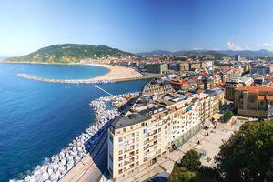 Panoramic view of San Sebastian