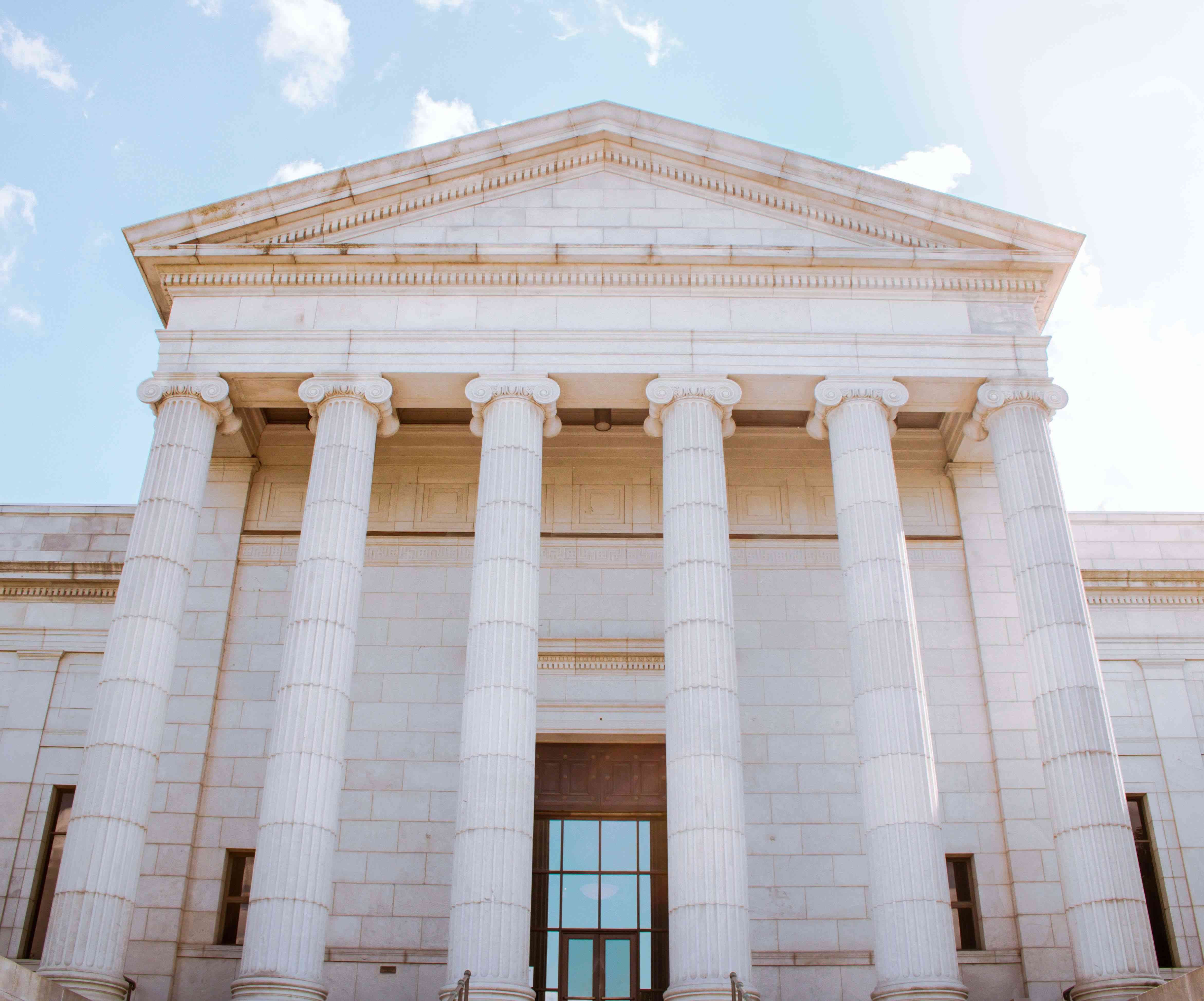 The entrance to the Minneapolis Institute of Art