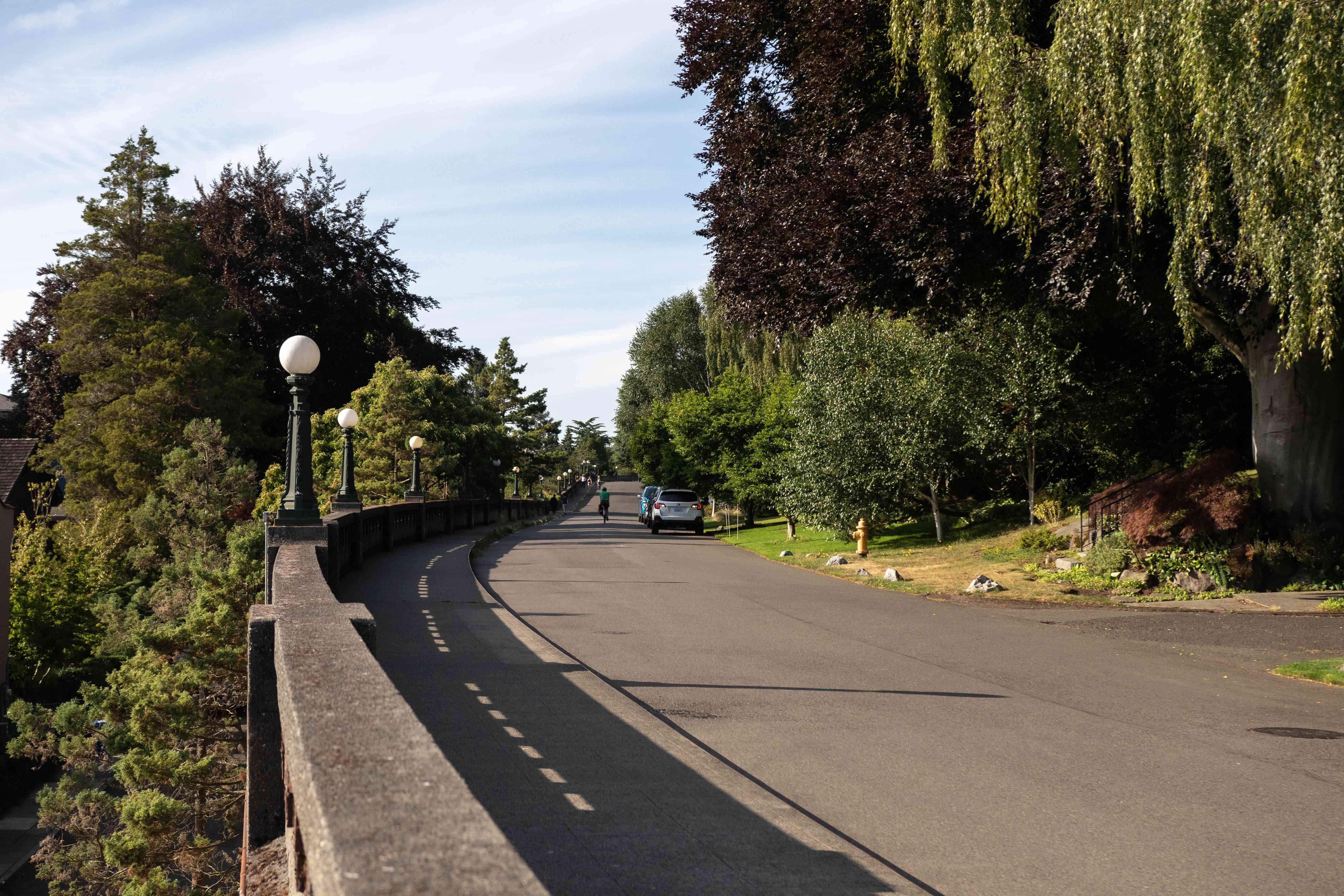 The Wilcox Wall in Seattle, Washington