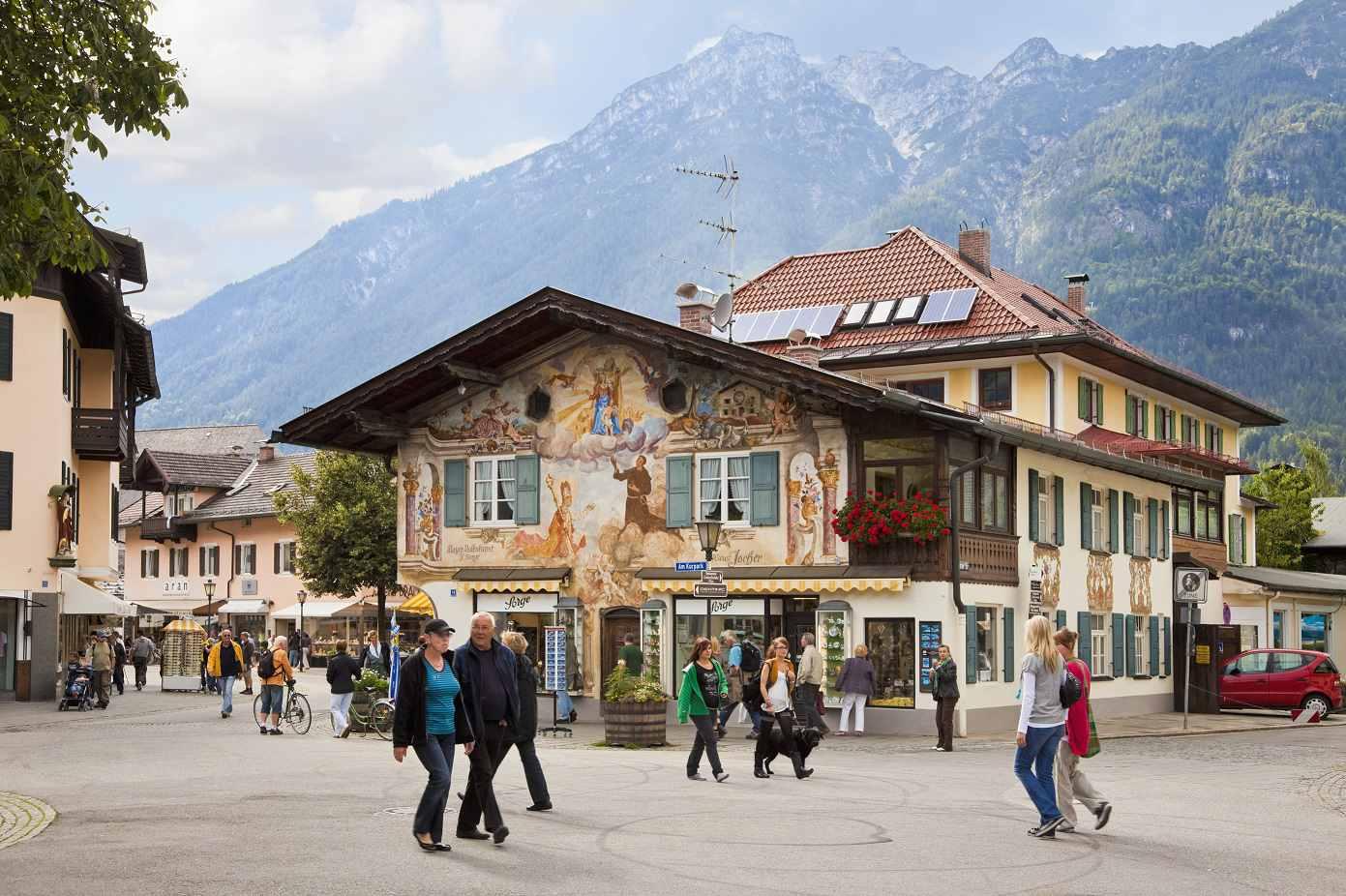 Old Town Garmisch-Partenkirchen