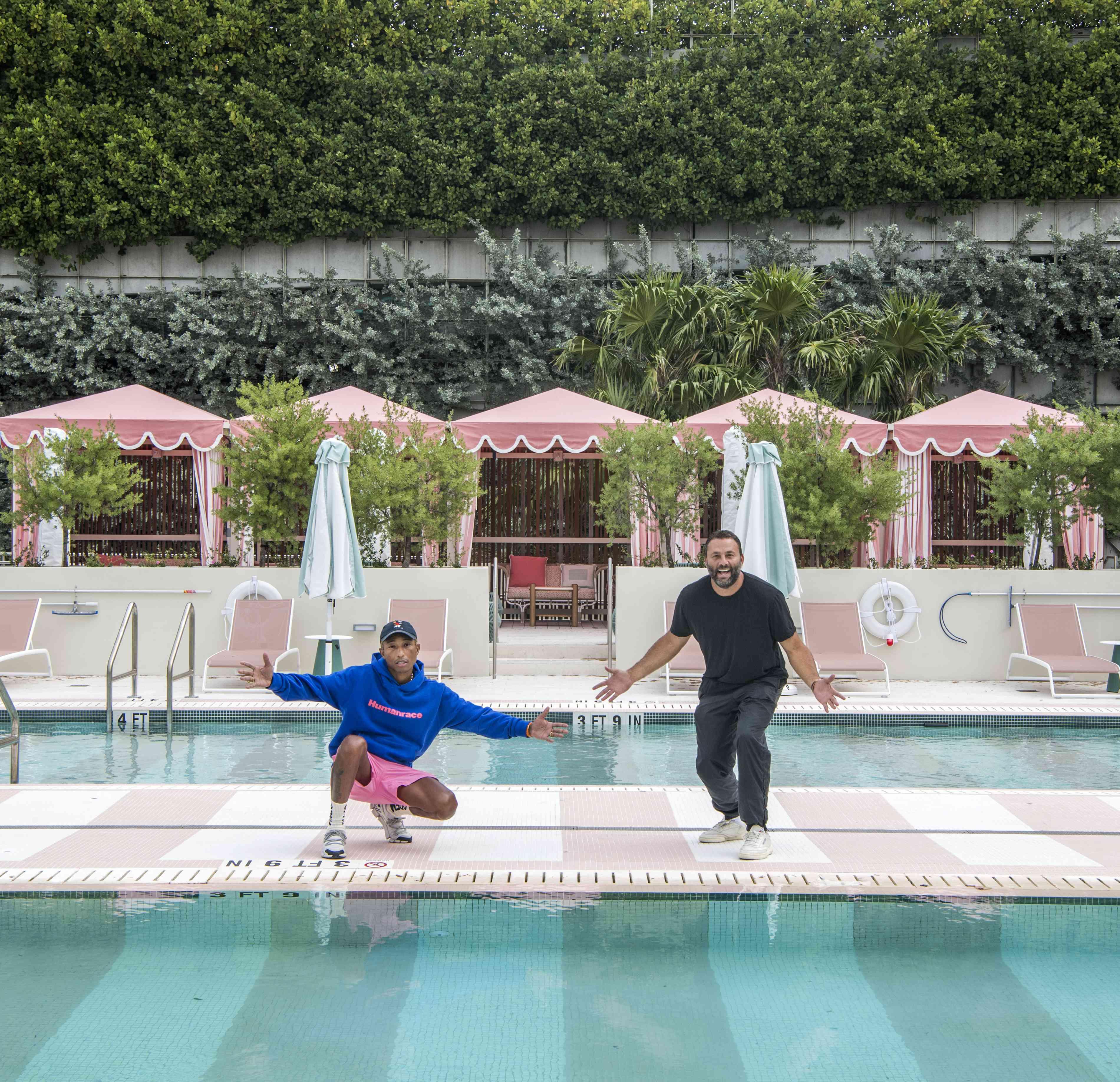 The Goodtime Hotel's Pharrell Williams and David Grutman