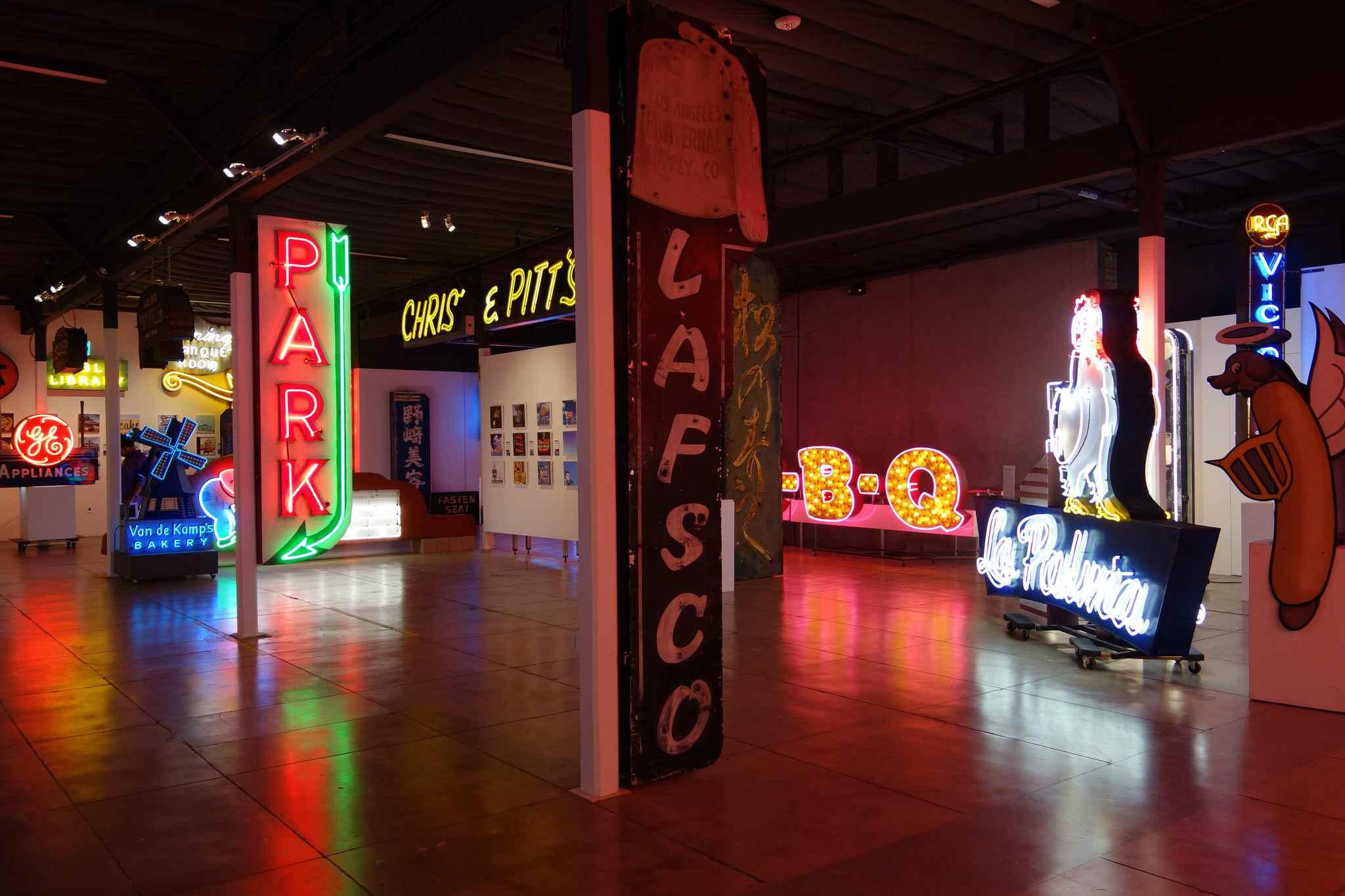 Museum of Neon Art in Glendale