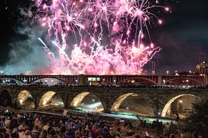 New Year's Eve in Minneapolis/St. Paul