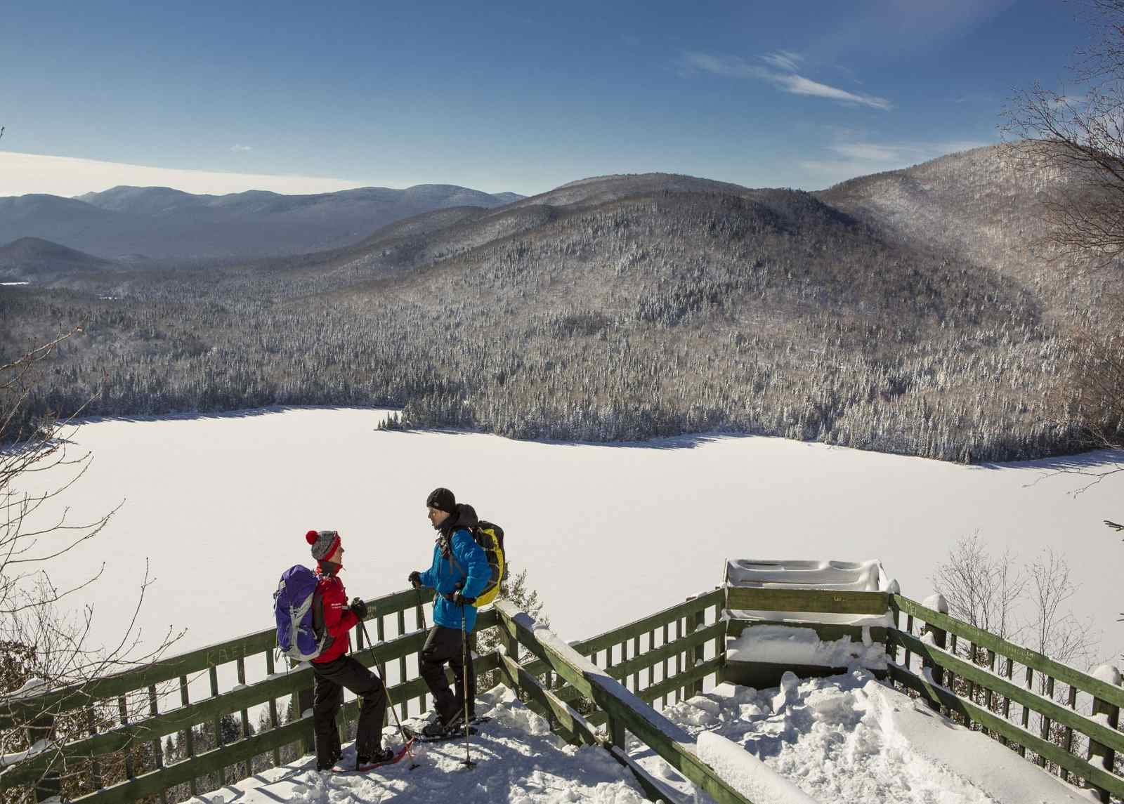 Top winter hikes near Montreal include Mont Tremblant