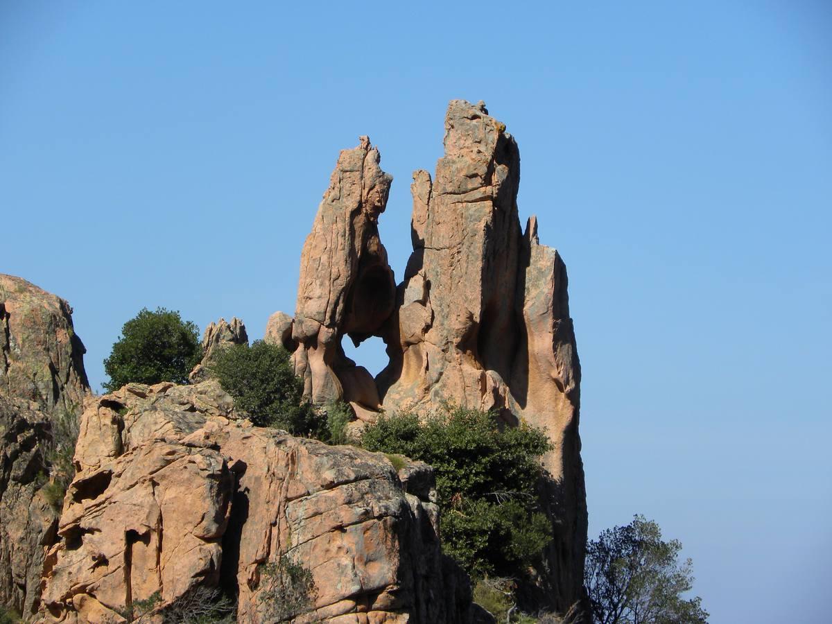 Les Calanches - Corsica UNESCO World Heritage Site