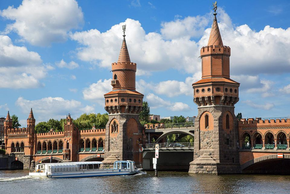 Berlin, Oberbaum Bridge