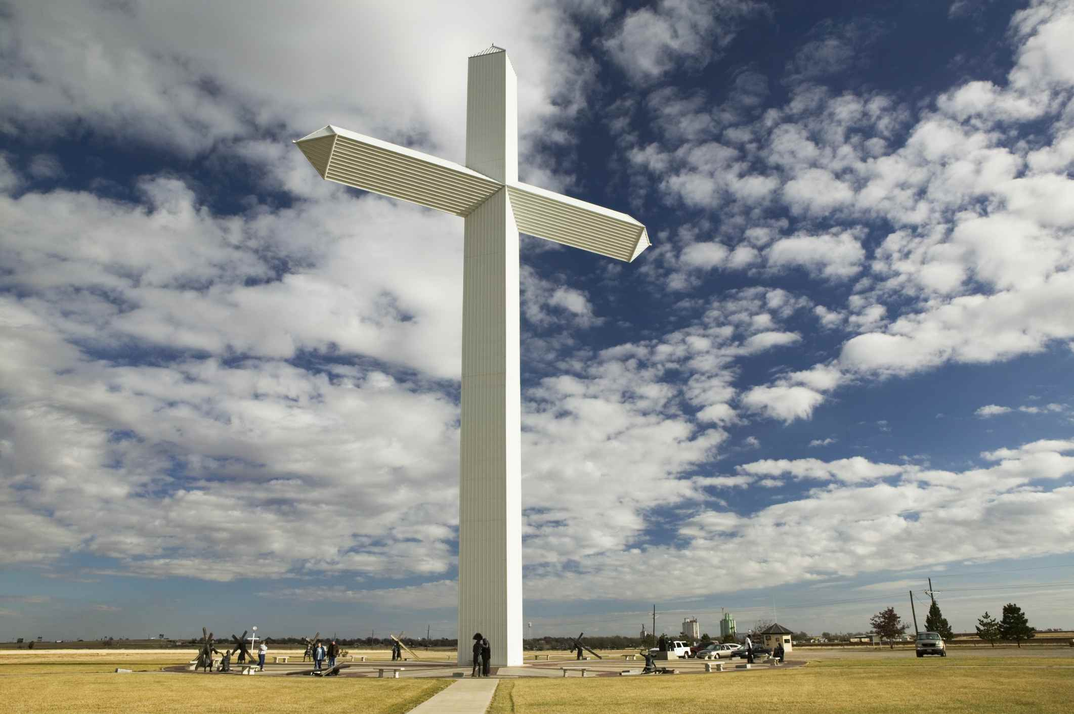 USA, Texas, Panhandle area, Cross of Our Lord
