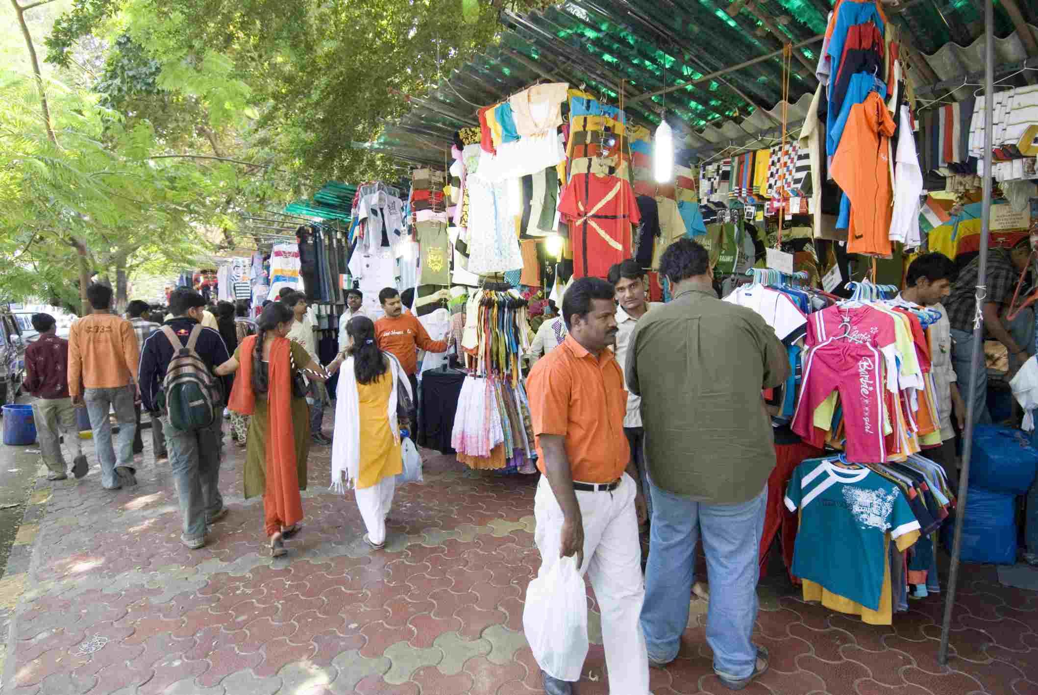 Fashion Street, Mumbai.