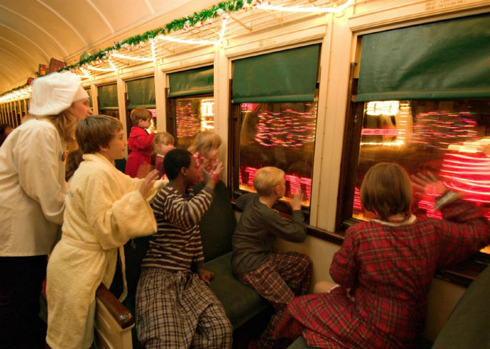 Durango Railroad Polar Express