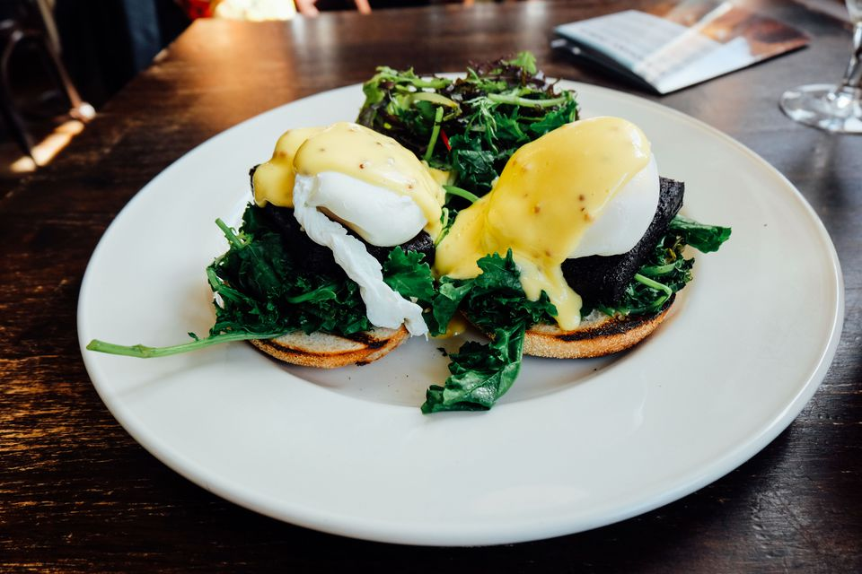 Eggs for an Irish breakfast